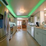 Change the kitchen light color for your event!